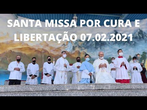 Santa Missa por Cura e Libertação | 07.02.2021 | Domingo | Padre José Sometti | ANSPAZ