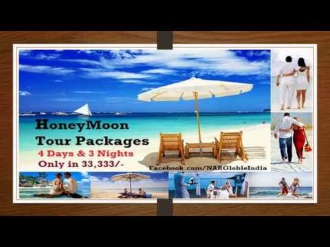 Honeymoon Tour and Holidays Places Packages in India
