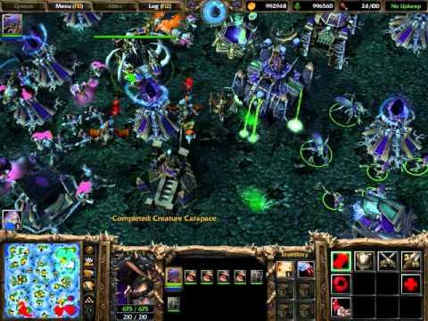 Warcraft 3 тактика за нежить
