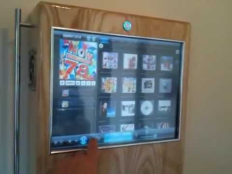 Touch Screen Jukebox Wall Mounted Solid Ash Quot Gerbles
