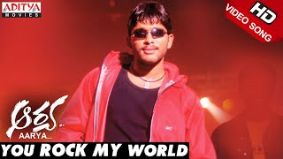 Allu Arjun Aarya Video Songs You Rock My World Song