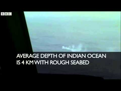 Malaysia plane search  Difficulties in Indian Ocean