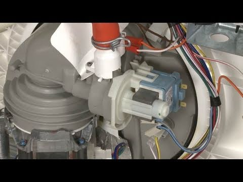 Dishwasher Not Draining Dishwasher Drain Pump Replacement