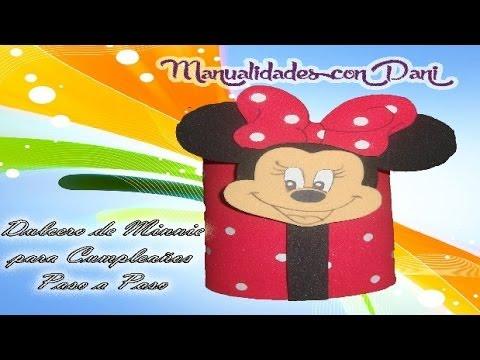 Como hacer dulcero de minnie para cumplea os muy original - Hacer video cumpleanos original ...