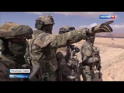 Clip: Hình ảnh thực chiến của đặc nhiệm Nga trên chiến trường Syria