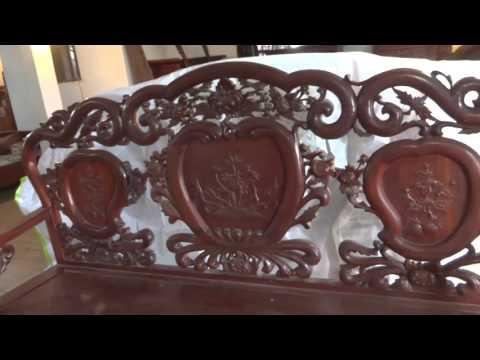 Bộ ghế guột cúc, gụ, 6m, 17-12-2015, 20 tr, Đồ Gỗ Đức Hiền