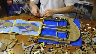 LEGO 10234 Sydney Opera House Time-Lapse Build