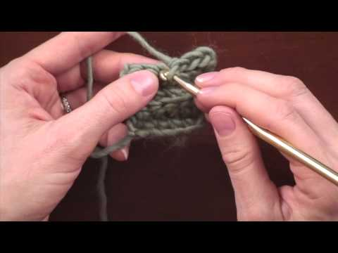 Crochet Stitch Variations: Working into Front or Back Loop Only