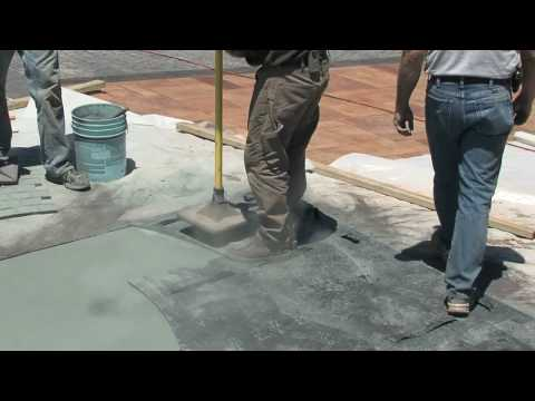 How to Stamp Concrete