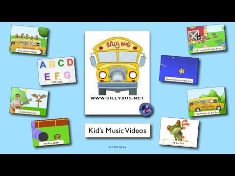 30 minutes of Kids Songs | Kids Music | Kids Video | Half Hour | Silly Bus | Children's Songs