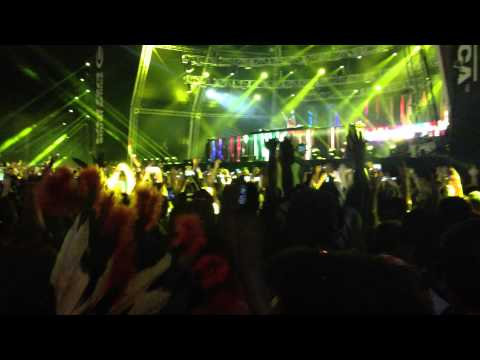 Tiesto @ Ultra South Africa Johannesburg Intro 15.02.2014