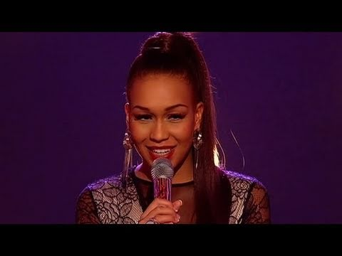 Rebecca Ferguson sings Teardrops - The X Factor Live - itv.com/xfactor