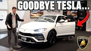 Trading My Model X For The New Lamborghini Urus?!