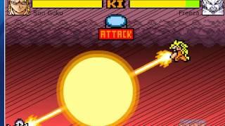 Goku Vs Freezer In Dragon Ball Devolution (Mode Versus