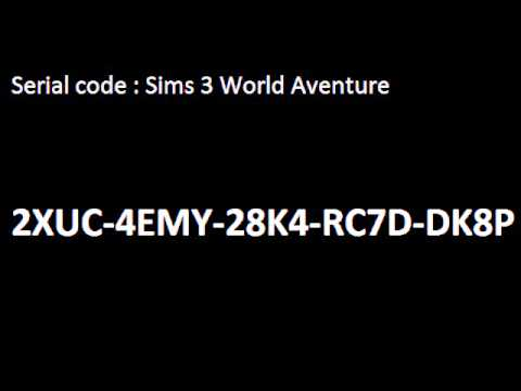 The only code I can think of is the serial code for the sims 3. To be able to find it, it should be on the back of the booklet in the sims 3 game case. Share to.
