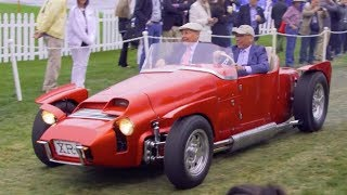 Pebble Beach Concours d'Elegance Highlight - 2017 Pebble Beach Week. MotorTrend.