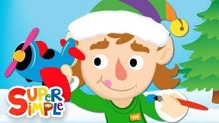 10 Little Elves | Christmas Song For Kids | Super Simple Songs