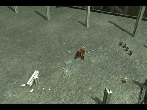 Визуализация геймплея Dawn of War 2. Верните мост!