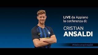 Live! Conferenza Stampa Cristian Ansaldi 18:00 11.08.2016 CEST