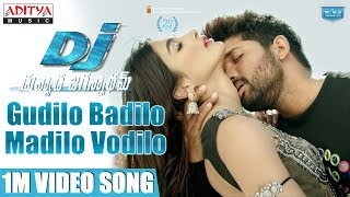 Duvvada Jagannadham Movie Gudilo Badilo Madilo Song