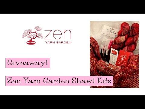 Giveaway!   Zen Yarn Garden Shawl Kits