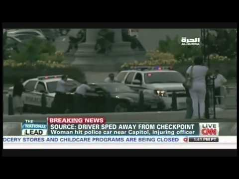 Eyewitness Video of Washington DC Shooting and Car Chase News Coverage (October 3, 2013, 4:31 PM)
