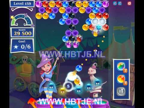 Bubble Witch Saga 2 level 159