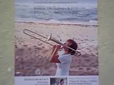 CD Presentation Tributo de Tambor y Trombón en Clave de Mujer Boricua- Nov 3, 2013  by May Peters