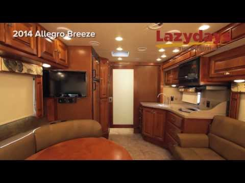 Tiffin Allegro Breeze,  2014 RV for sale from Lazydays The RV Authority