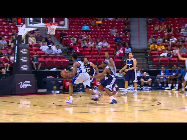 Kent Bazemore Hammers it Down