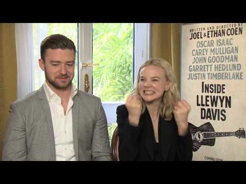 Justin Timberlake and Carey Mulligan on being cast in Inside Llewyn Davis