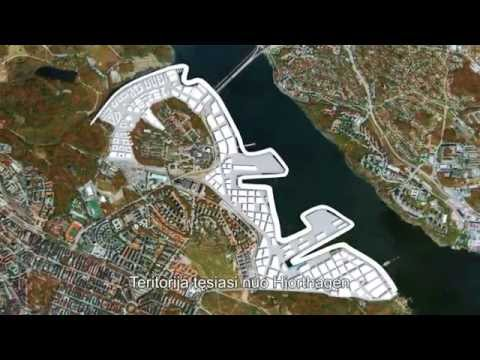 Stockholm Royal Seaport  (English version with Lithuanian subtitles)