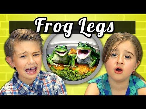 KIDS vs. FOOD - FROG LEGS