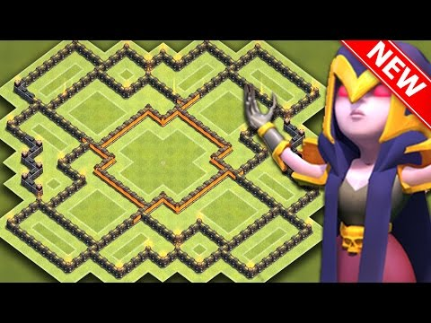Clash Of Clans Quot New Quot Insane Th10 Hybrid Base For New