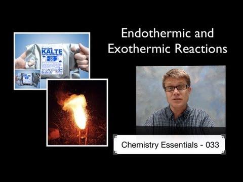Ap Chem 033 Endothermic Exothermic Reactions Bozemanscience