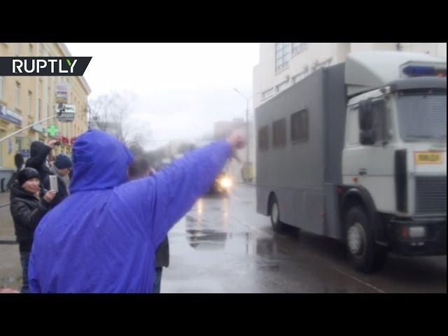 День воли: в Минске прошёл антиправительственный митинг
