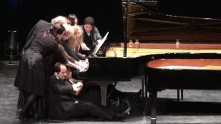 12 Pianists at 1 Piano