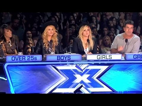'X FACTOR' FOUR CHAIR CHALLENGE: KELLY ROWLAND OVER 25S LILLIE MCCLOUD & KHAYA COHEN! - X CAP 3x07