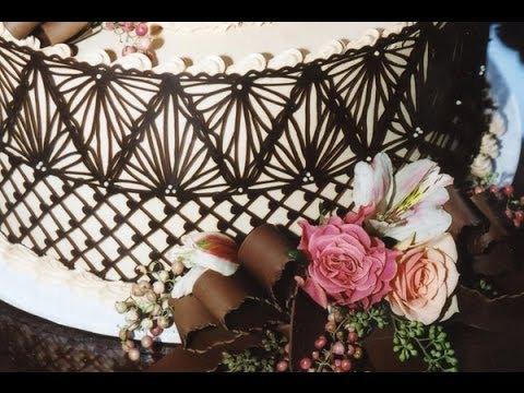 Make Chocolate Lace Cake Wraps