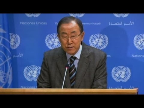 Iran invited to Syria peace conference: UN chief