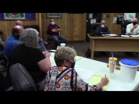Peru Town Board Meeting  10-15-20