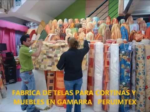 FABRICA DE TELAS PARA CORTINAS Y MUEBLES EN GAMARRA PERUIMTEX