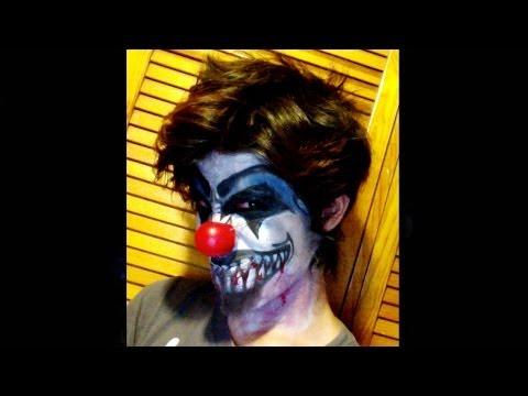 Maquillaje de Halloween - Payaso maldito