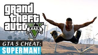 GTA 5: Superman Cheat! (HD)