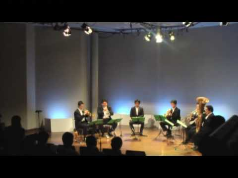 17-Jan.'09 Jiyugaoka Quintet (Disney Movie Medley for Brass Sextet)