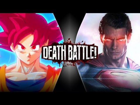 Goku VS Superman 2 | DEATH BATTLE!