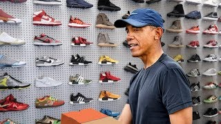 PARODY: Barack Obama Goes Sneaker Shopping