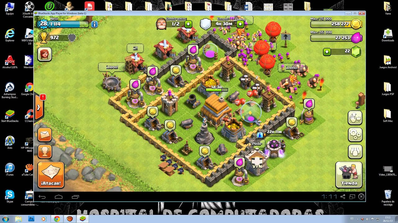 Clash Of Clans para PC - YouTube