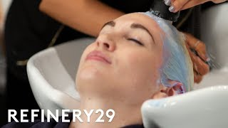 I Bleached My Virgin Hair Platinum Blonde | Hair Me Out | Refinery29