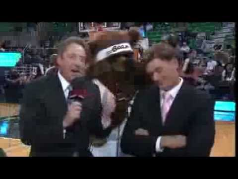 Bear-y Funny | Jazz Mascot VideoBombs Causes Havoc for Matt | November 2, 2013 | NBA 2013-14 Season